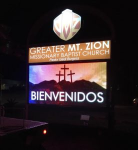 Digital Signs & Message Centers custom lighted monument digital message center e1530106590486 276x300